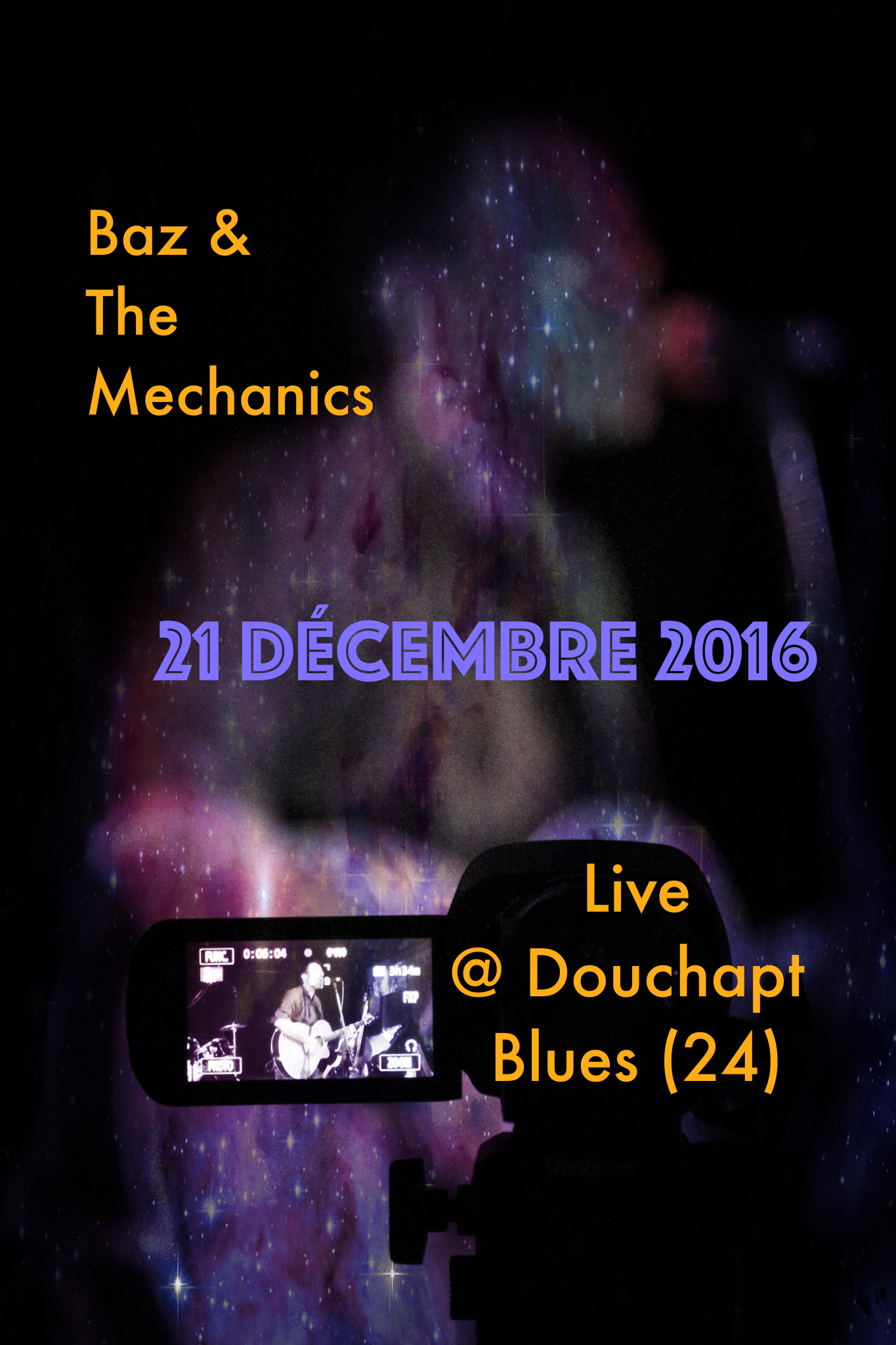 Affiche Baz Live @ Douchapt Blues 21_12